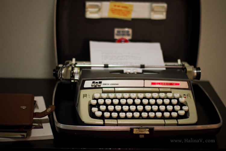Things I like | Typewriters | Creativity Maven